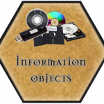 Tile with information objects